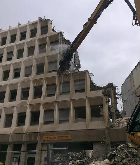 demolition poste st victor exterieur