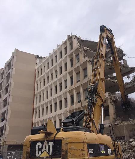 demolition poste st victor