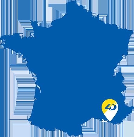 Emplacement de 4D demolition en France